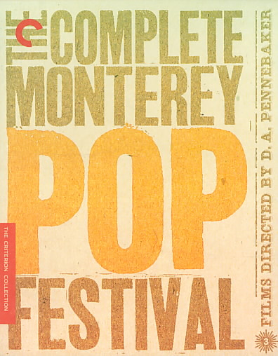 COMPLETE MONTEREY POP FESTIVAL BY PENNEBAKER,D.A. (Blu-Ray)