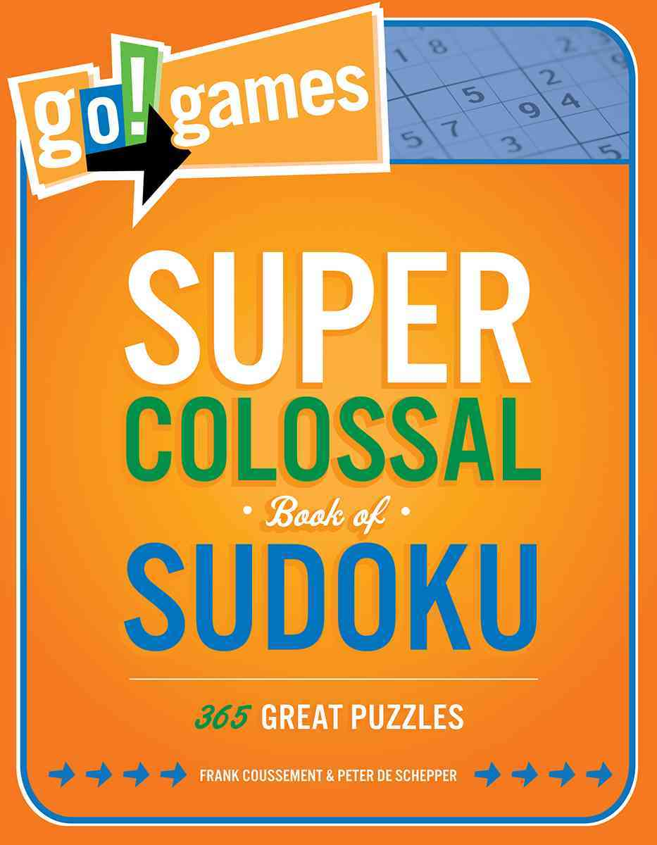 Go!games Super Colossal Book of Sudoku By De Schepper, Peter/ Coussement, Frank (ILT)